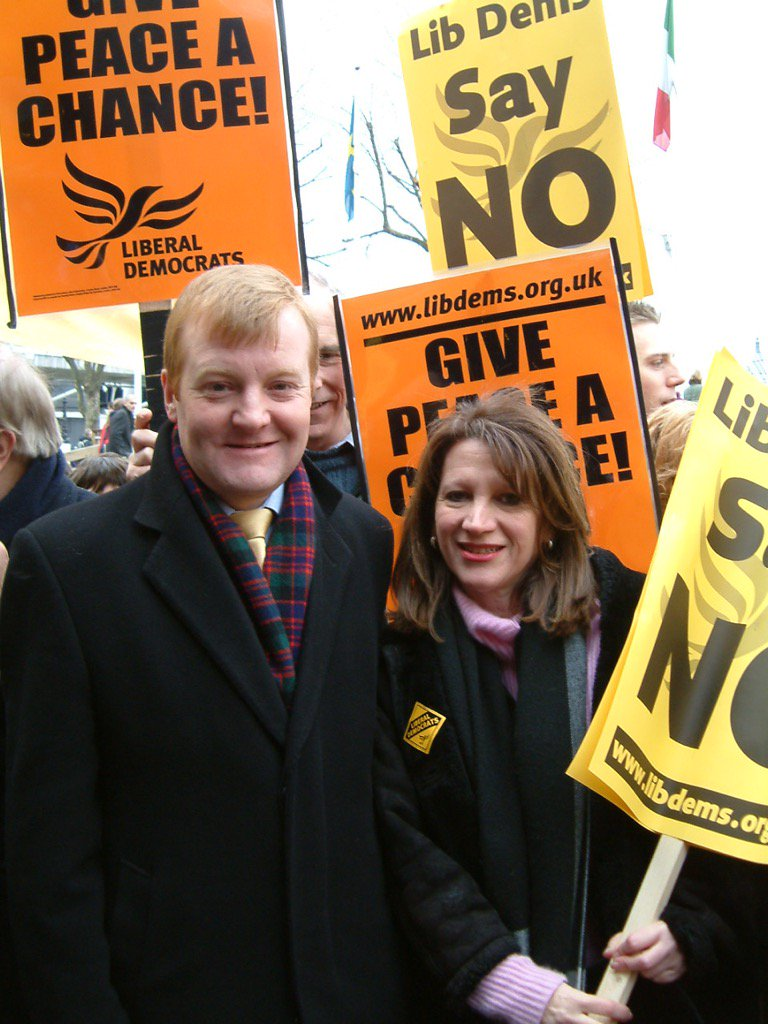 With Charles Kennedy on anti-Iraq war march. If only they'd listened to Charlie https://t.co/4lYJoOR0Xc