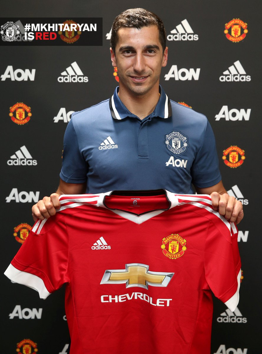 We can confirm #MkhitaryanIsRed! Read the full statement as @HenrikhMkh completes his move: http://bit.ly/29mNLcZ