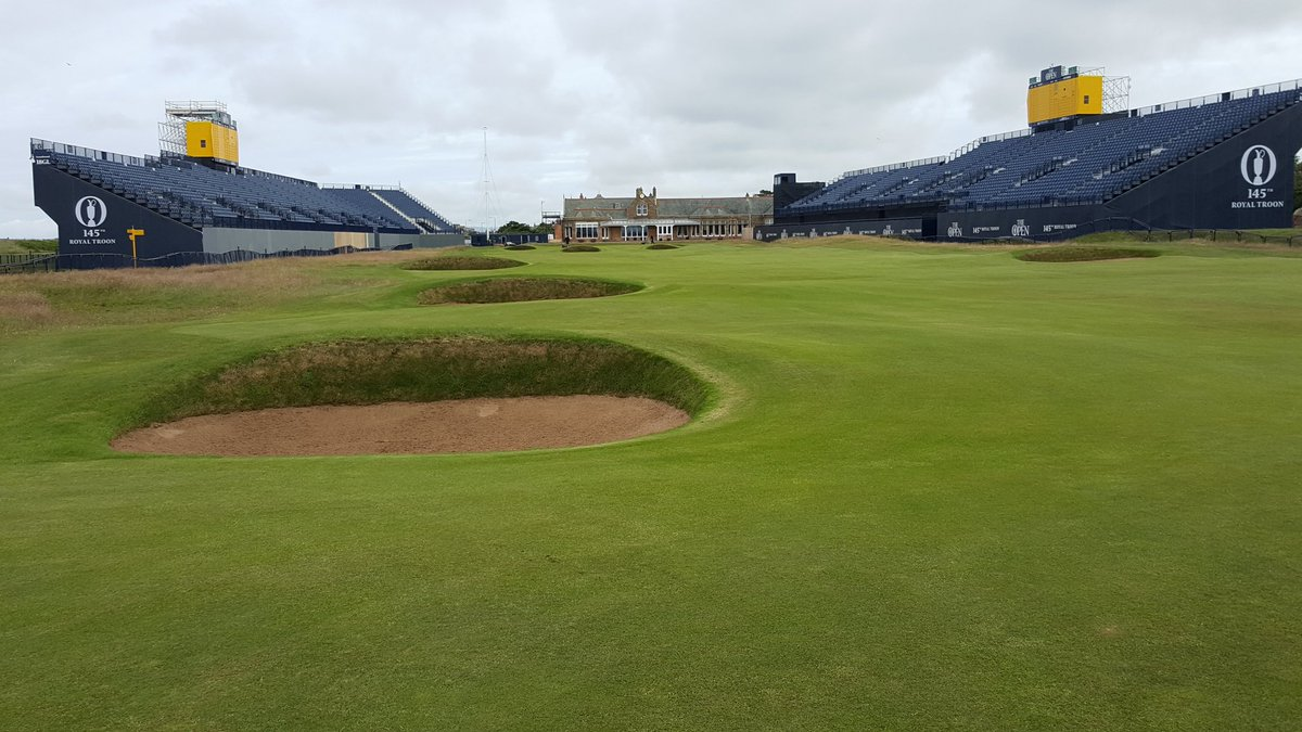 Troon nearly ready. #The Open https://t.co/bUclhTYZcr