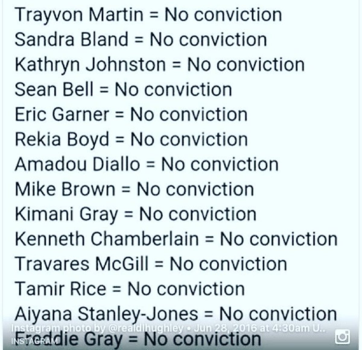 No Conviction! https://t.co/MSkrFKhK14