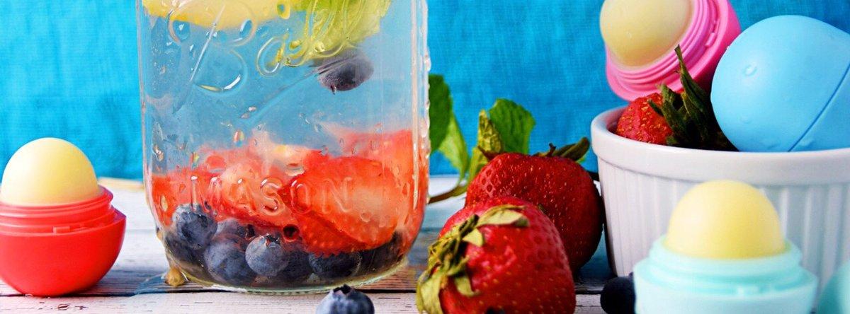 Organic, natural, refreshing. #eos