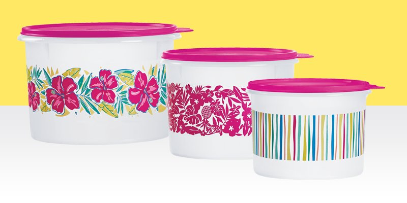 Tropical Canister Set