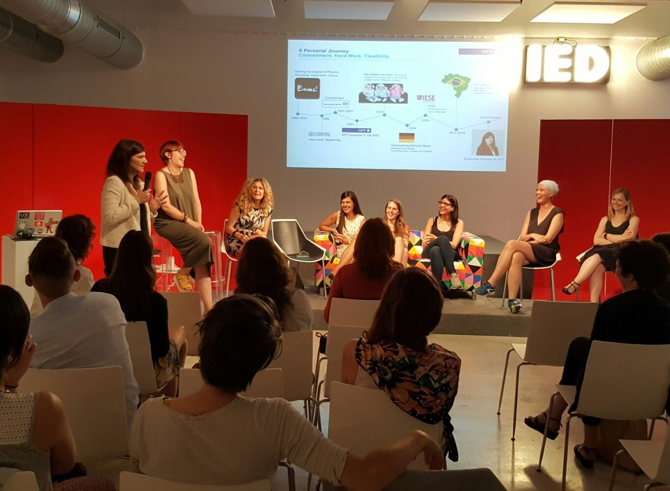 """Importance of women in business leadership through representative experiences """"Women in Design & Tech"""" @webvisions https://t.co/bdsqXnRPfx"""