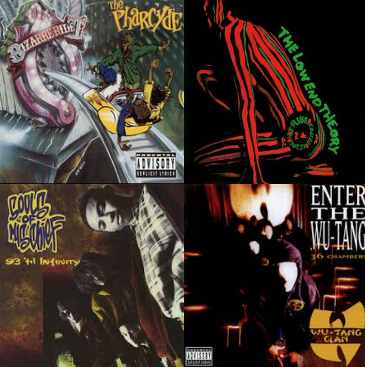 """These 4 albums shaped the way I look at hip hop."" via @freshlydipped - RT if u agree #WaxWednesday #ThePharcyde https://t.co/mH6aPAAGYt"