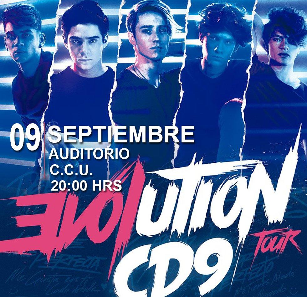 ¿Donde están las fans de @CD9 en #Puebla ¿Ya tienen sus boleto para el #Evolutiontour? ¡No te quedes fuera! https://t.co/rOcHoE7wKo