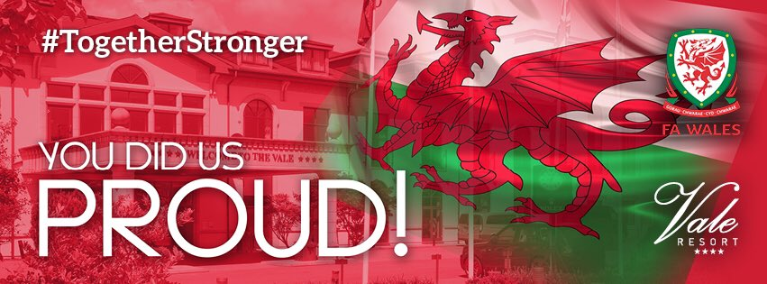 We are so proud of you Wales! An amazing achievement ❤️⚽️ https://t.co/IwrGrWzyZp