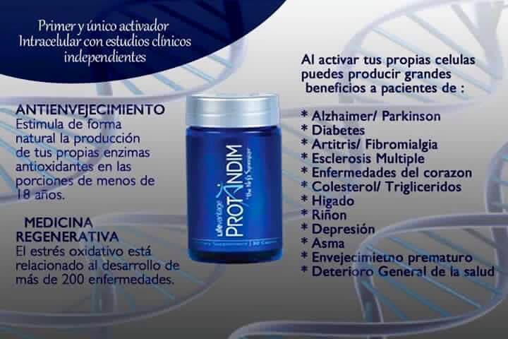 estrés oxidativo diabetes protandim ingredientes