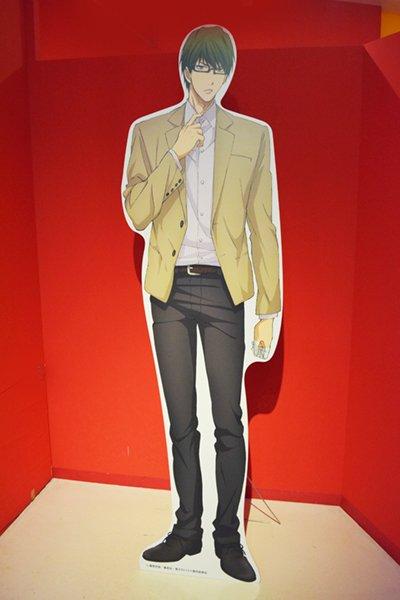 「黒子のバスケ J-WORLD Collection ver.Shintaro Midorima」開催中!エリアには等身大パネルが登場!一緒に写真を撮っちゃおう♪