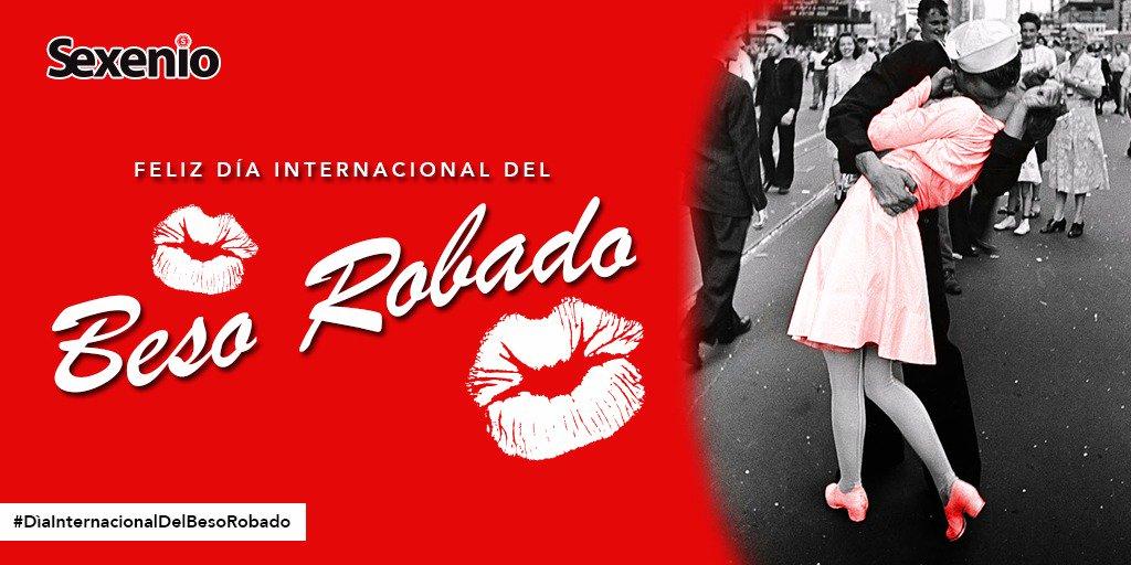 ¡No seas tímido! Cuéntanos con quién te gustaría celebrar el #DiaInternacionalDelBesoRobado