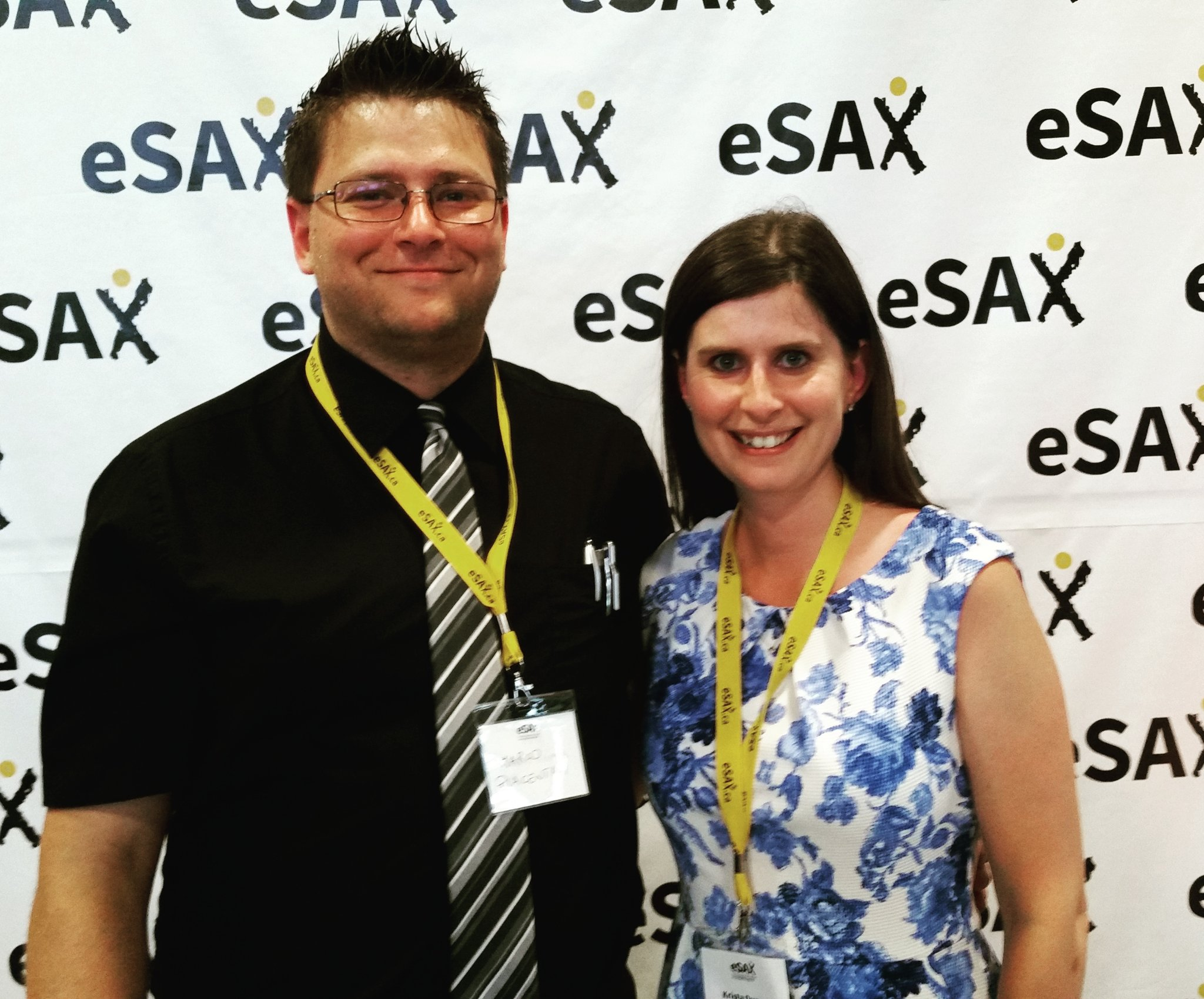 We love getting out and meeting members of the #ottcity #smallbiz community! #eSAX #supportlocal https://t.co/wGrjkyc9g5