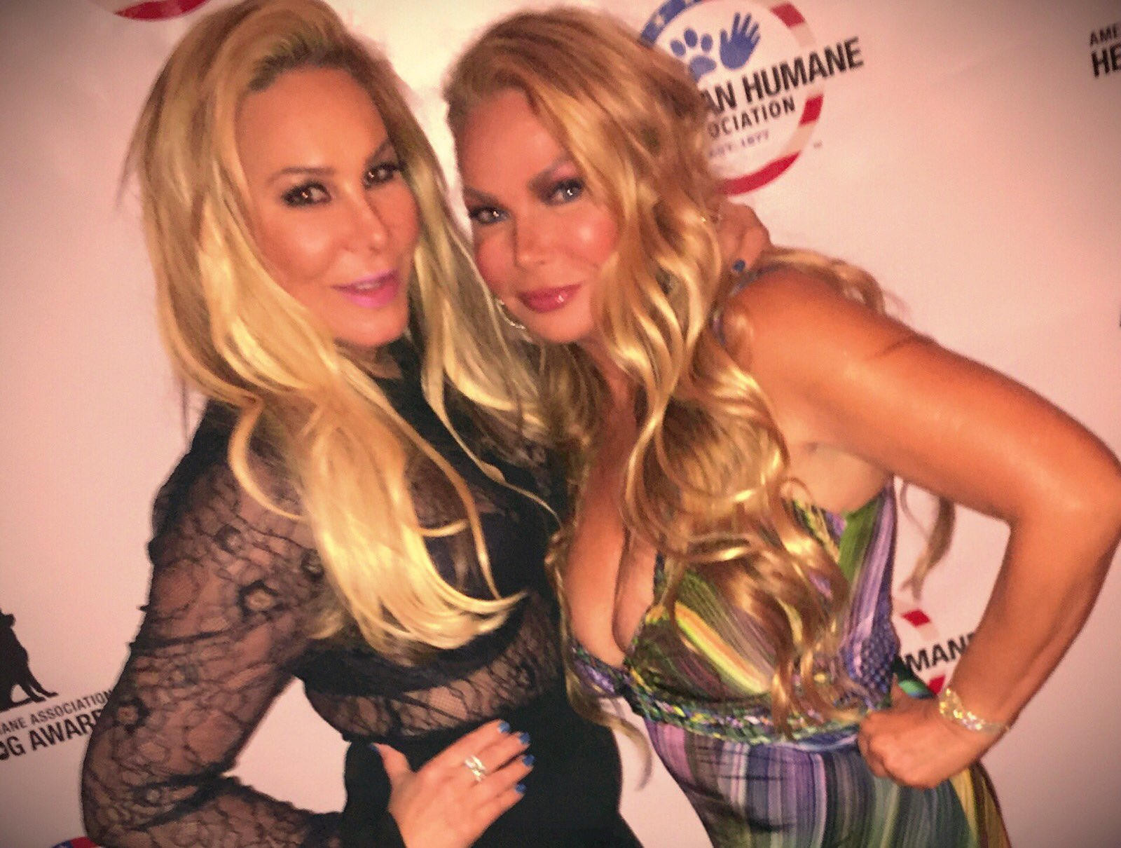 Dinner @AdrienneMaloof for #dogs #trained for #veteranshealth! @TheRealCamilleG @MomicJoanie @melissaprophet @andy