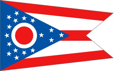 The Ohio flag looks like Martians invaded America and redesigned the Stars and Stripes for an occupation government. https://t.co/QagG4qMWvX