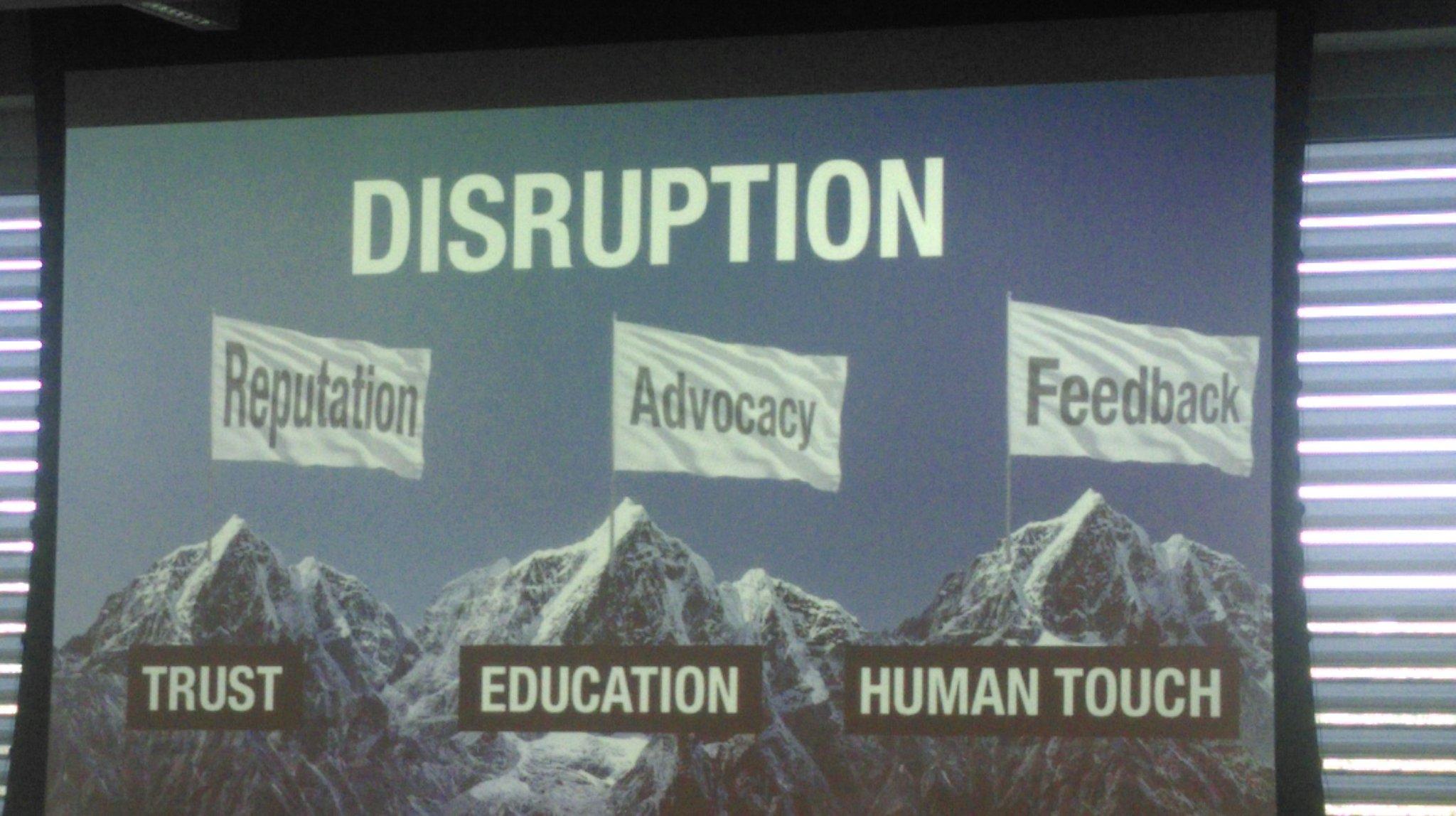 Disruption is definitely a communication matter @GlassesOff_App  #innovation #dive2016 https://t.co/Aag4otwQ96