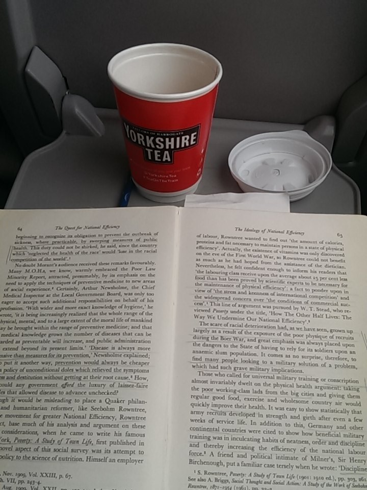 Cup of tea, some light(ish) reading and I'm off to #sshm16 #histmed https://t.co/p2O1SJVEEb