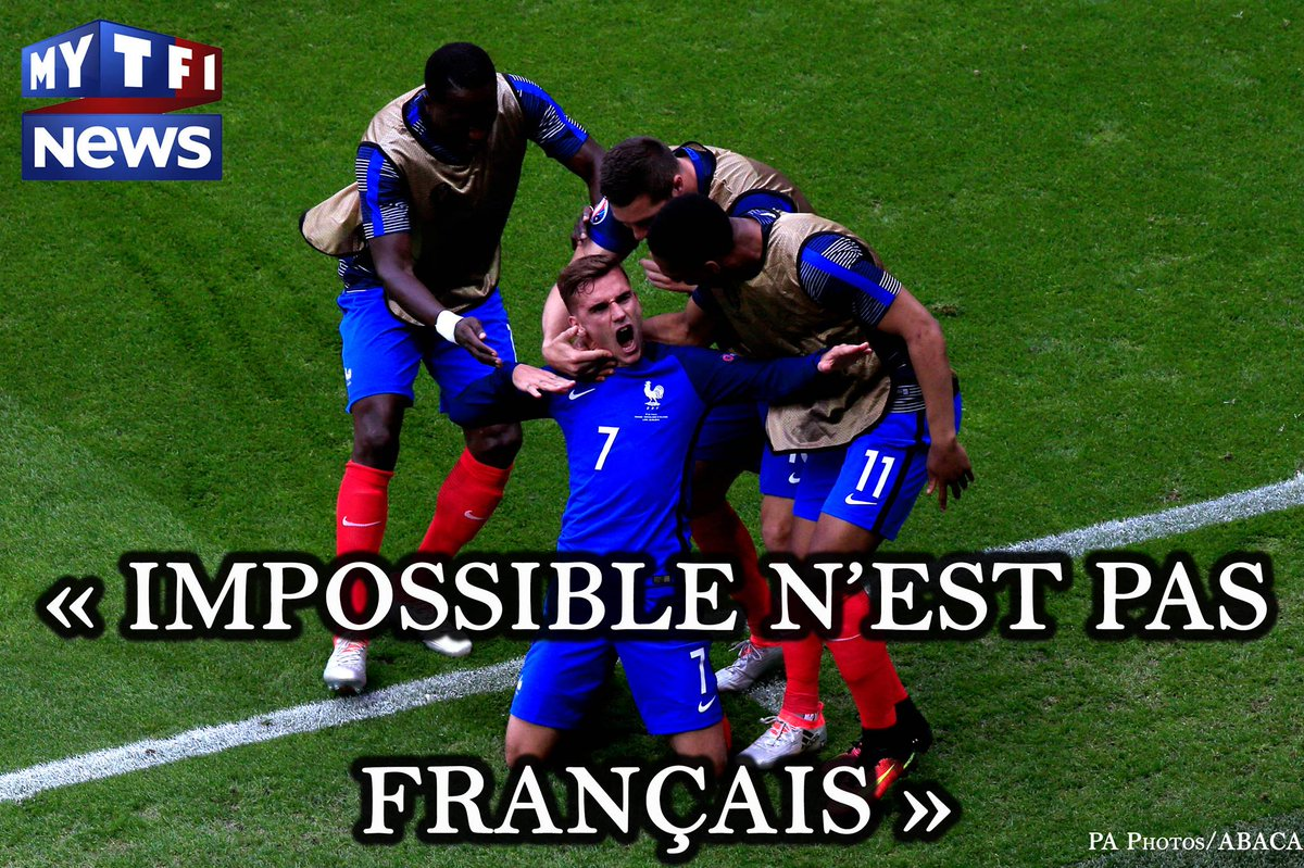 Antoine, Dimitri, Bacary, Olivier, Paul, Didier et tous les autres, la France entière croit en vous #FiersdetreBleus https://t.co/AxBaoAQIwc