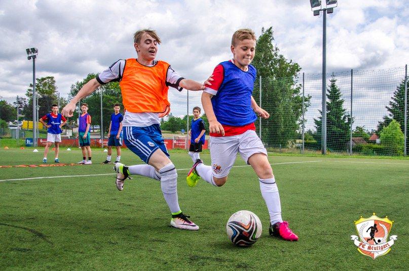Немецко- российское футбольное детское агентство fc stuttgart