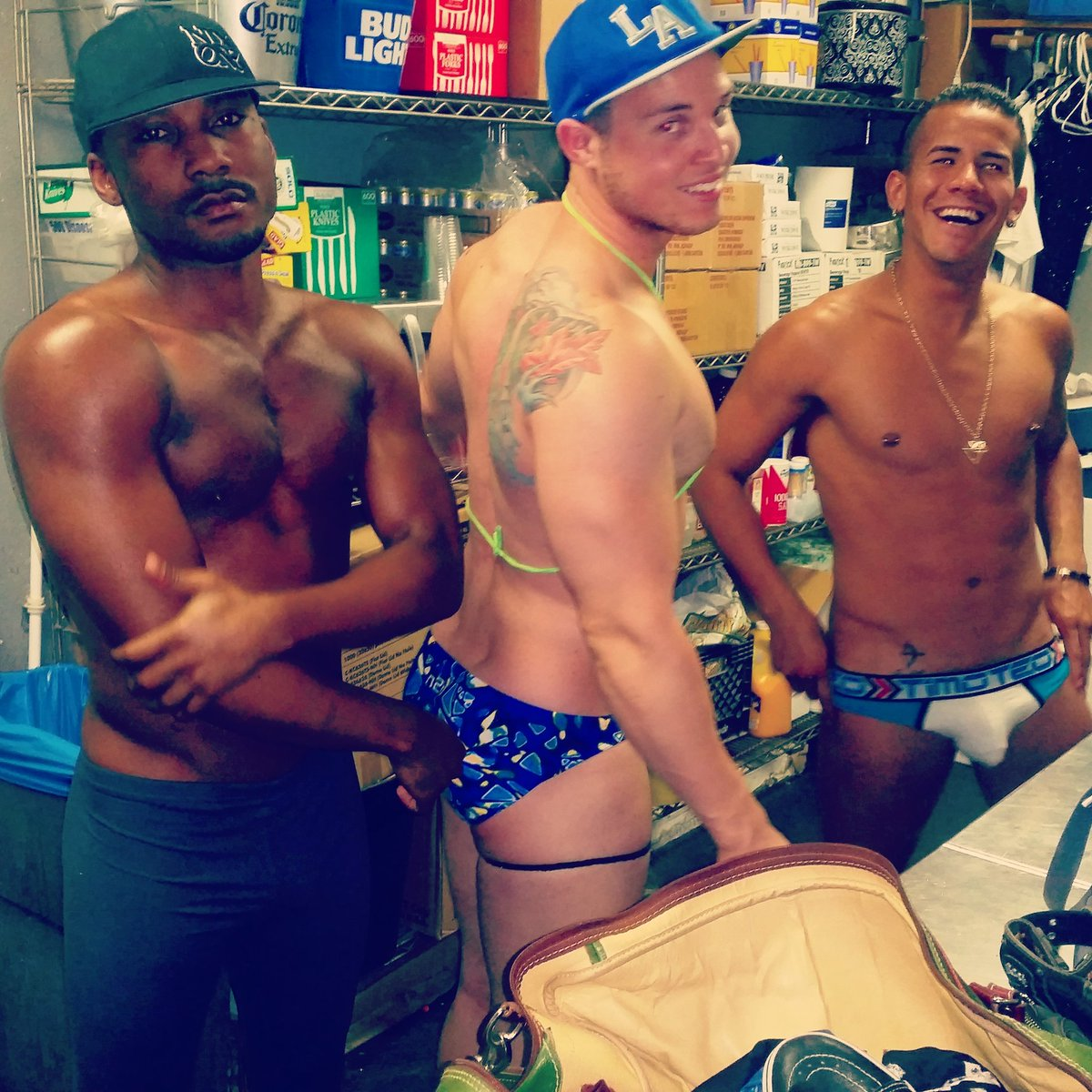 Gay party pics hot male underwear photo