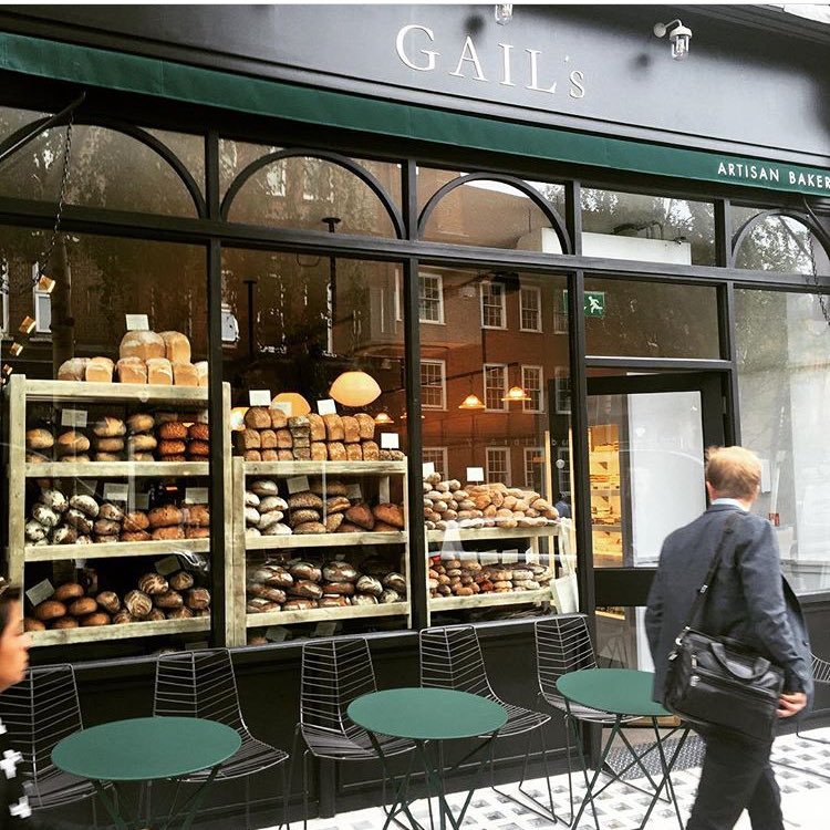 Good morning from our brand new bakery in #WestHampstead! https://t.co/gIMzmJggEV