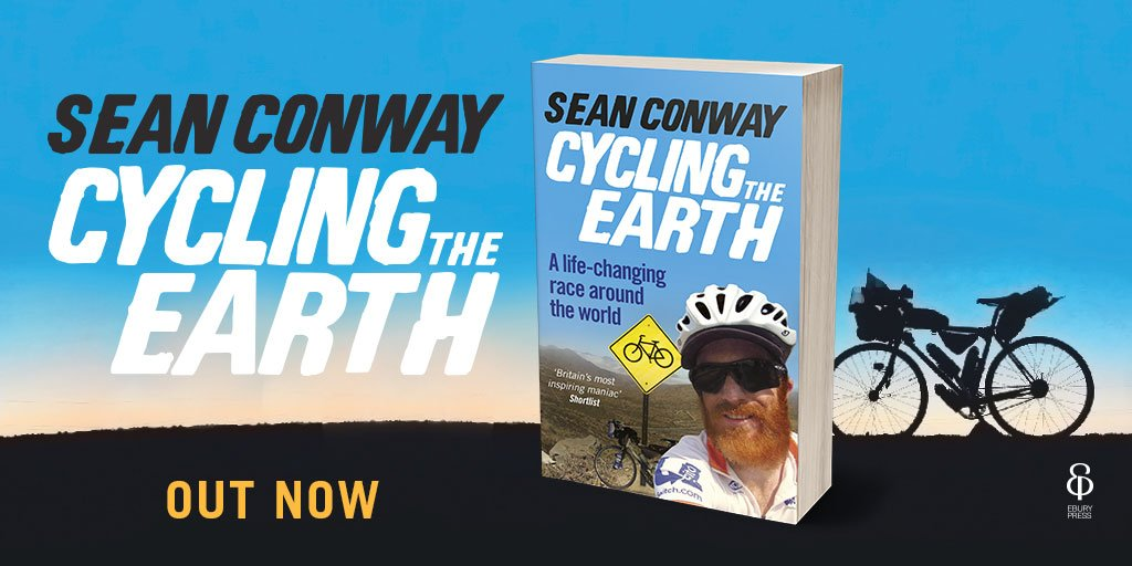 *COMPETITION* Win a copy of @Conway_Sean's book 'Cycling the Earth' which is out today! Just RT & follow to enter! https://t.co/UaEIqqOSqf