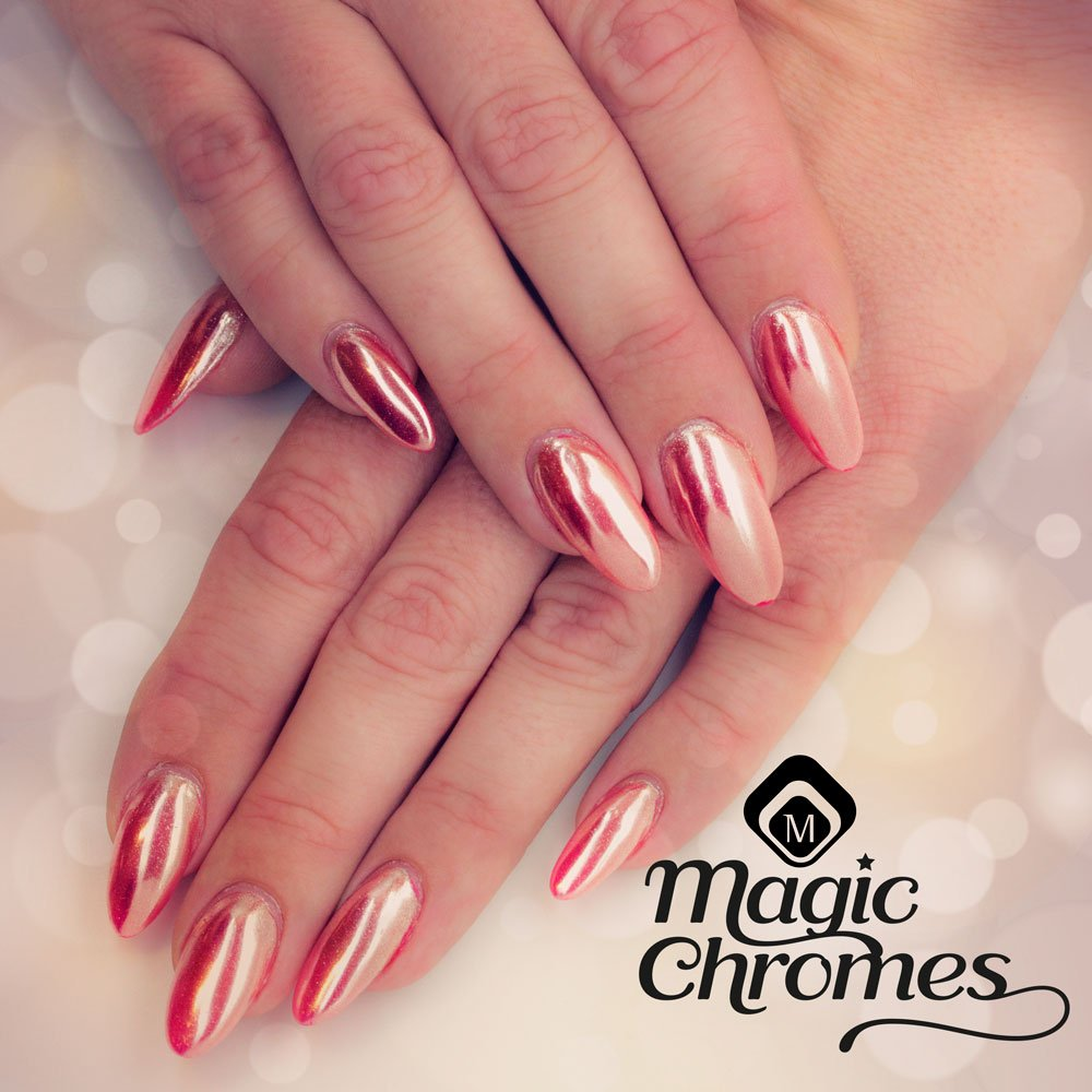 Magnetic Nail Design On Twitter Magnetic Magic Chrome 118074