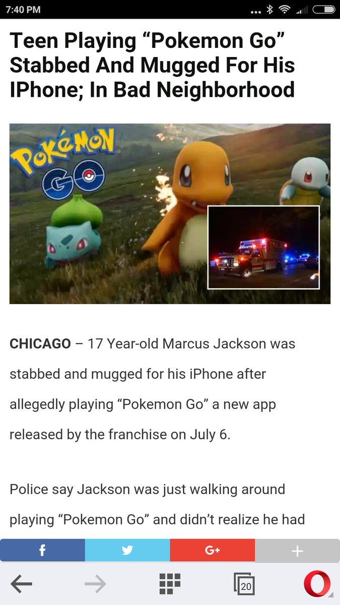 Pokemon People Realized Pokemon Stabbing Incident Fake Story