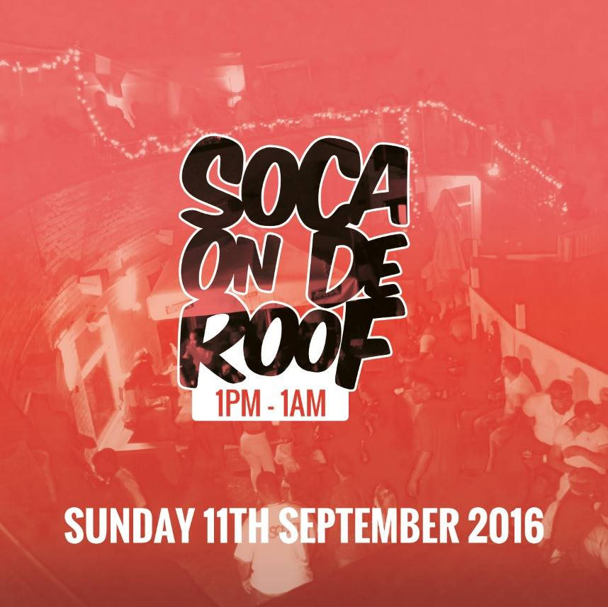 One of the most anticipated Fetes in the Yearly London Calendar - ..#SocaOnDeRoof - Sept 11 2016 https://t.co/w111D3lTQT