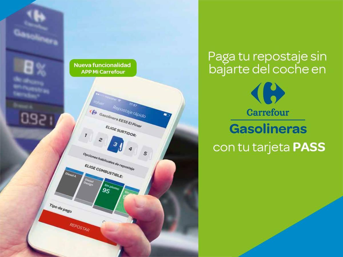 Carrefour Espana On Twitter Paga La Gasolina Desde Tu Movil