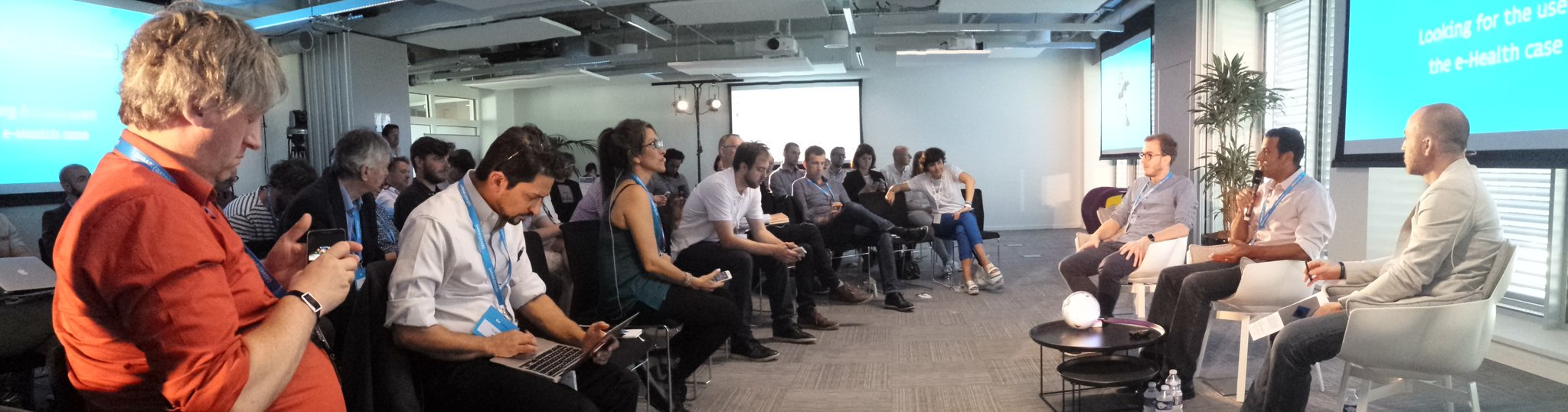 Great crowd & great talks at #dive2016 @Dive_Event #innovation #Rennes @IRT_BCom https://t.co/NyaZLHbgfq