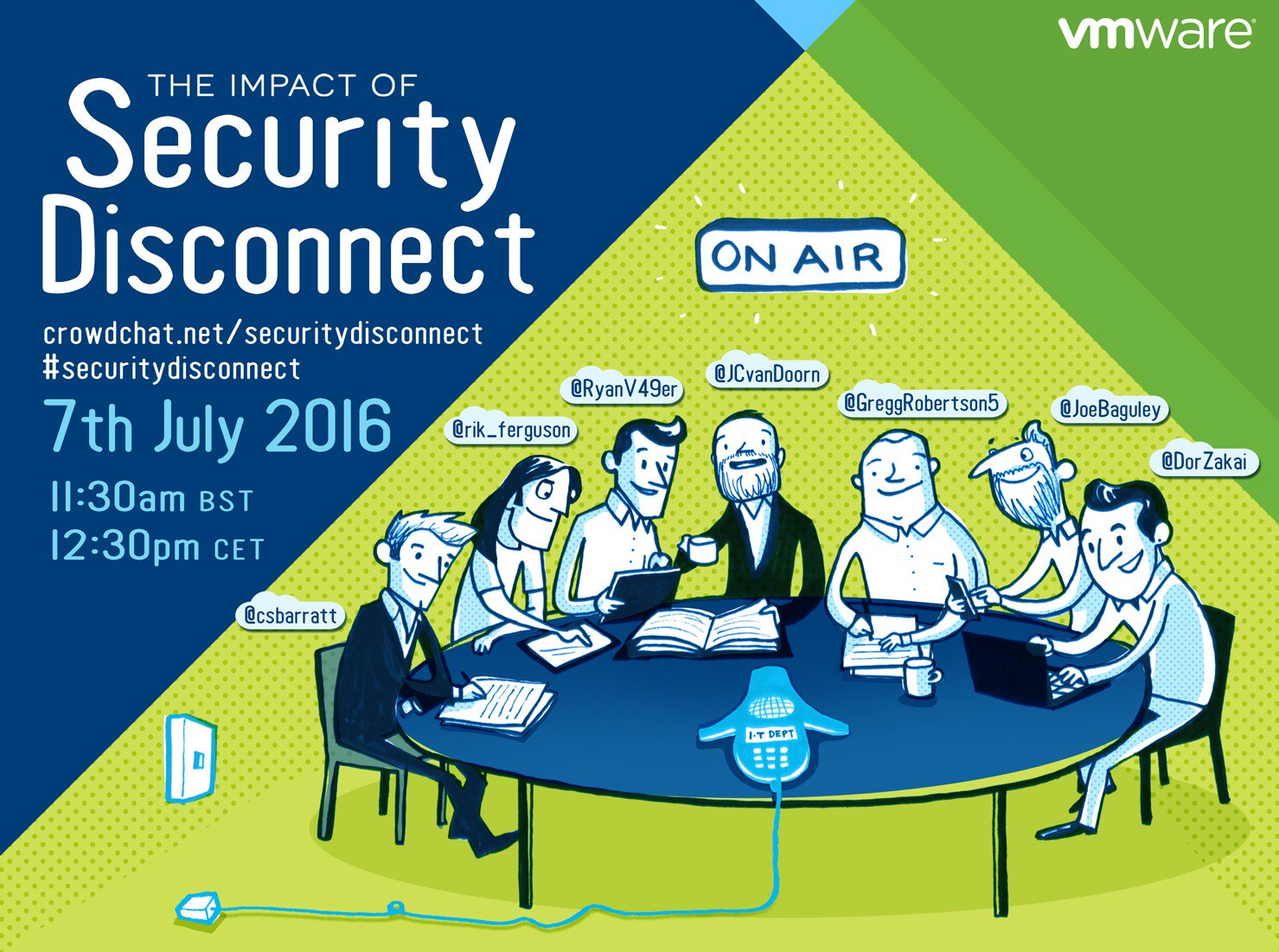 1 hour to go until our #SecurityDisconnect CrowdChat - don't miss out! https://t.co/pHBm0xIJLn https://t.co/97L9VhdW85
