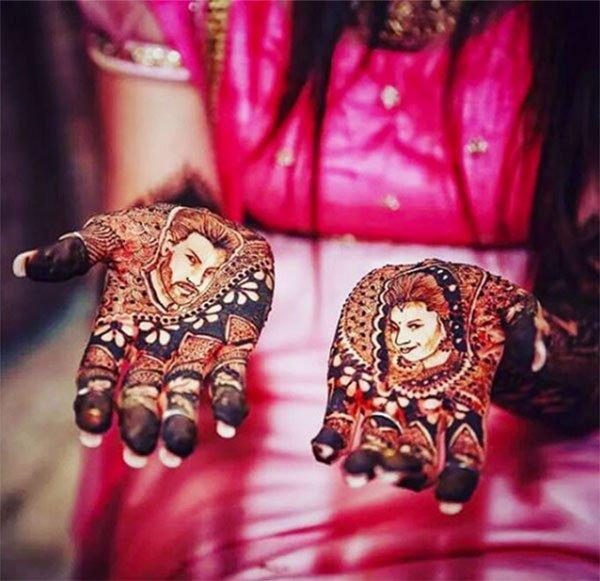 Mehendi Ceremony Look : Kool image gallery divyanka tripathi s mehendi ceremony pics