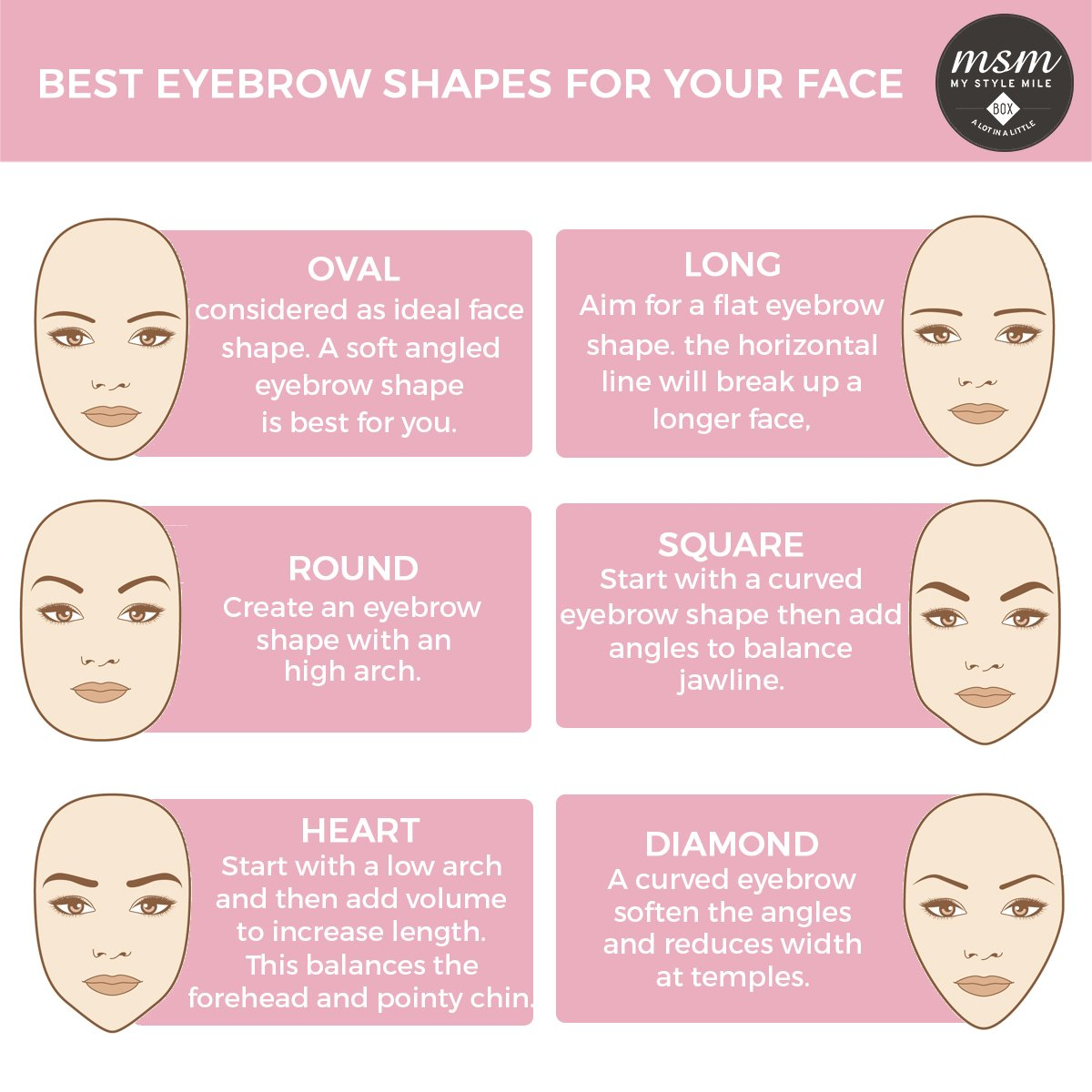 Proper Eyebrow Shape For Your Face The Eyebrow