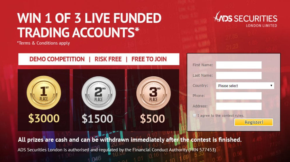 Forex contest valutrades