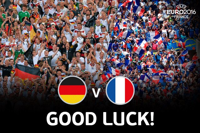 Германия - Франция. 22-й день Евро. Как это было - изображение 37