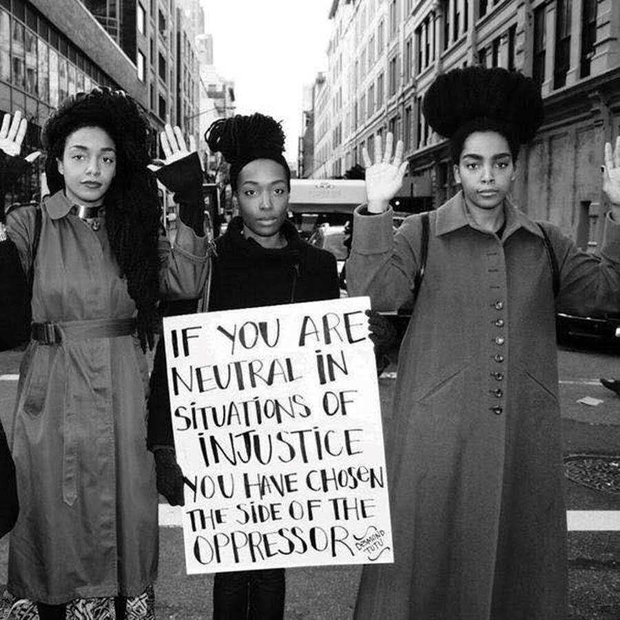 Give our black brothers & sisters rest & protection. Stand up. Use your voice & power. Justice is love in action. https://t.co/MXjEwQtdgh