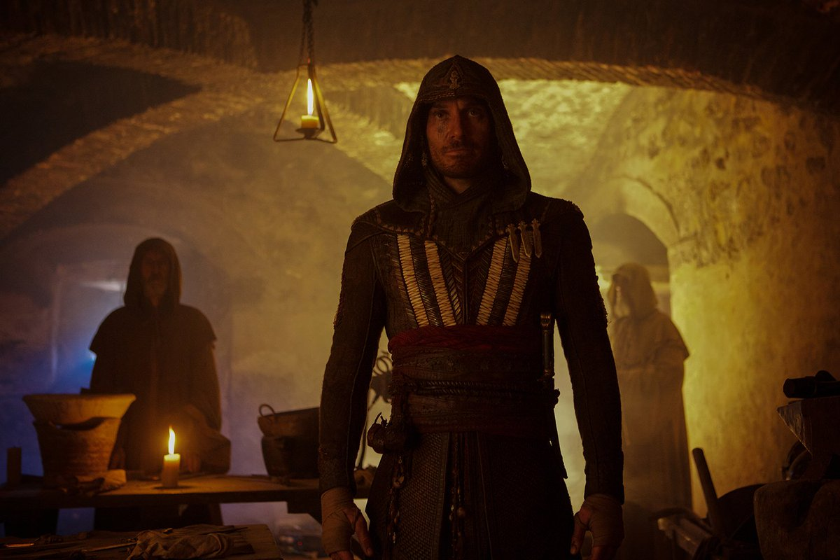 New Assassin's Creed Photos Feature Callum Lynch and Aguilar