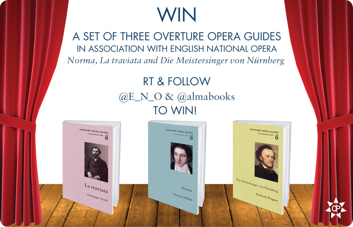 Fancy getting your hands on a set of Overture Opera guides? RT & follow @almabooks to win! #giveaway https://t.co/BSN1ZoFisj