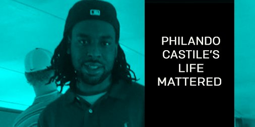 #PhilandoCastile, we say your name. We may get weary from tears, but WE DO NOT WAVER.   #BlackLivesMatter https://t.co/tNAyO5RHOm