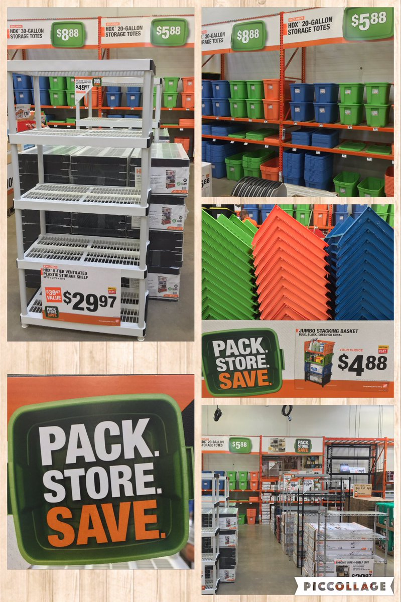 Home Depot Amarillo On Twitter Need More Storage We Have