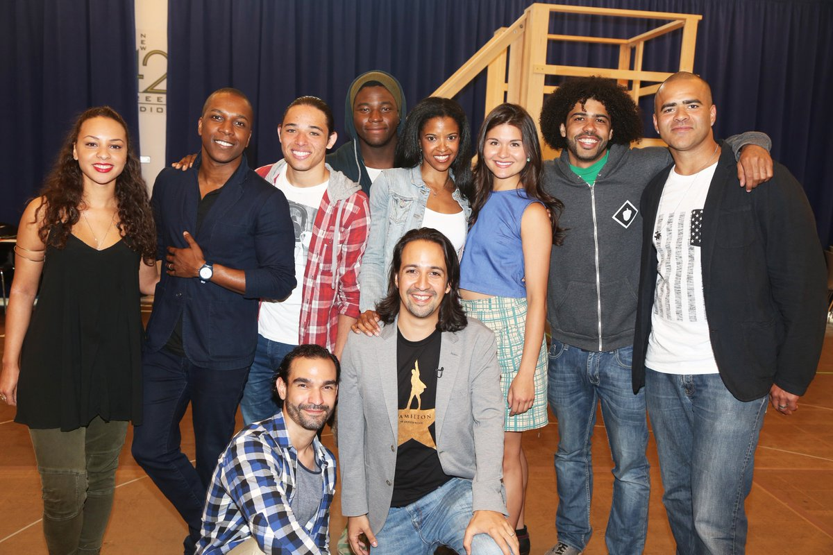 #OneLastTime #tbt to the first day of Broadway rehearsal for @HamiltonMusical https://t.co/sOZ8izUAUZ