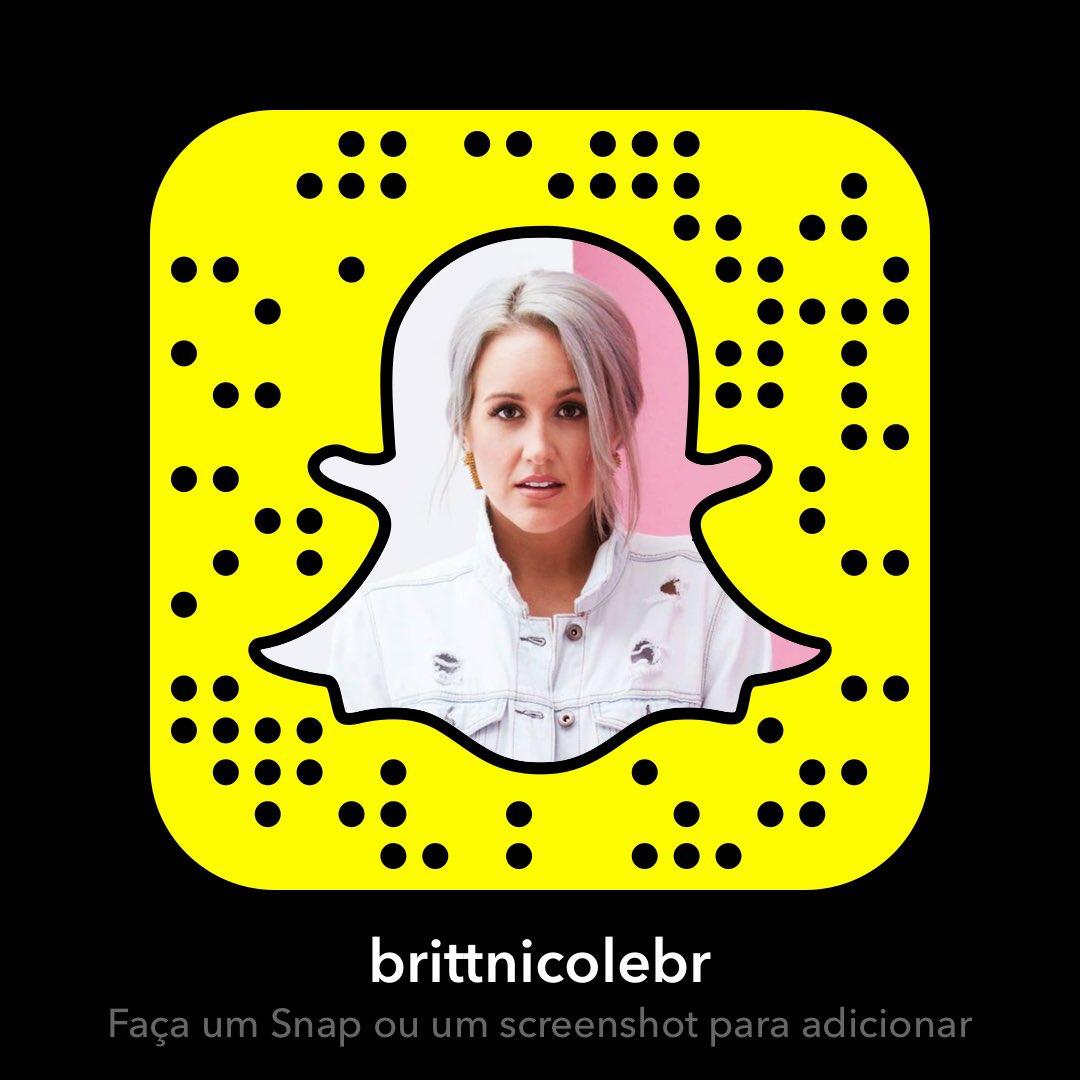 Britt nicole snapchat