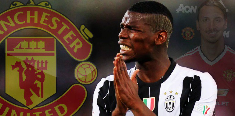 Calciomercato Juventus: Pogba al Manchester United?