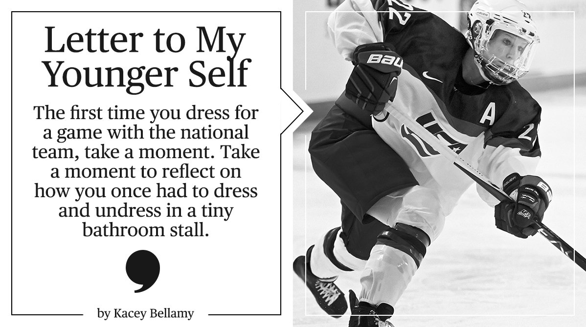 READ | Kacey Bellamy&#39;s letter to her younger self:  http:// bit.ly/29oZISf  &nbsp;  <br>http://pic.twitter.com/Kla4DnhHNA
