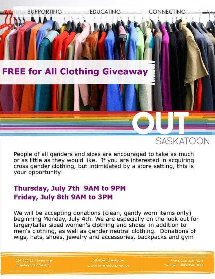 Outsaskatoon On Twitter Free Clothes Free Clothes Yes Free