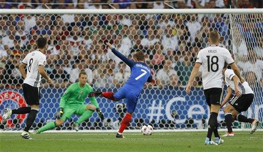 Risultato FRANCIA GERMANIA 2-0 Video: doppietta Griezmann ed è Finale Euro 2016