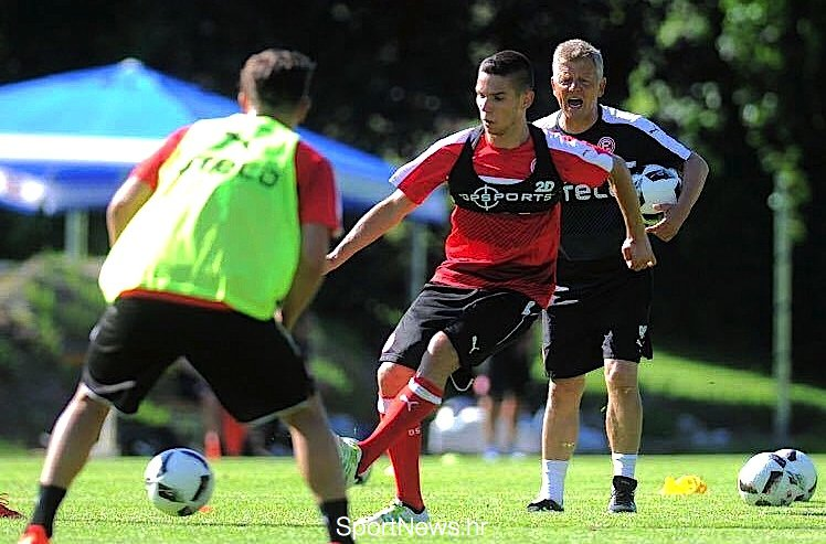 Karlo Igor Majić na treningu
