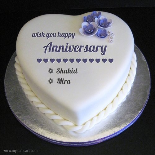 Cake Images With Name Vinod : [News] Shahid, Mira mark first year of together ...