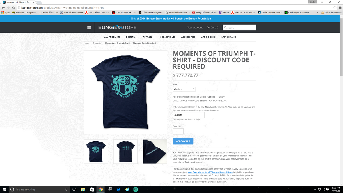 """suddoth 2 on twitter: """"got my moments of triumph shirt to support"""