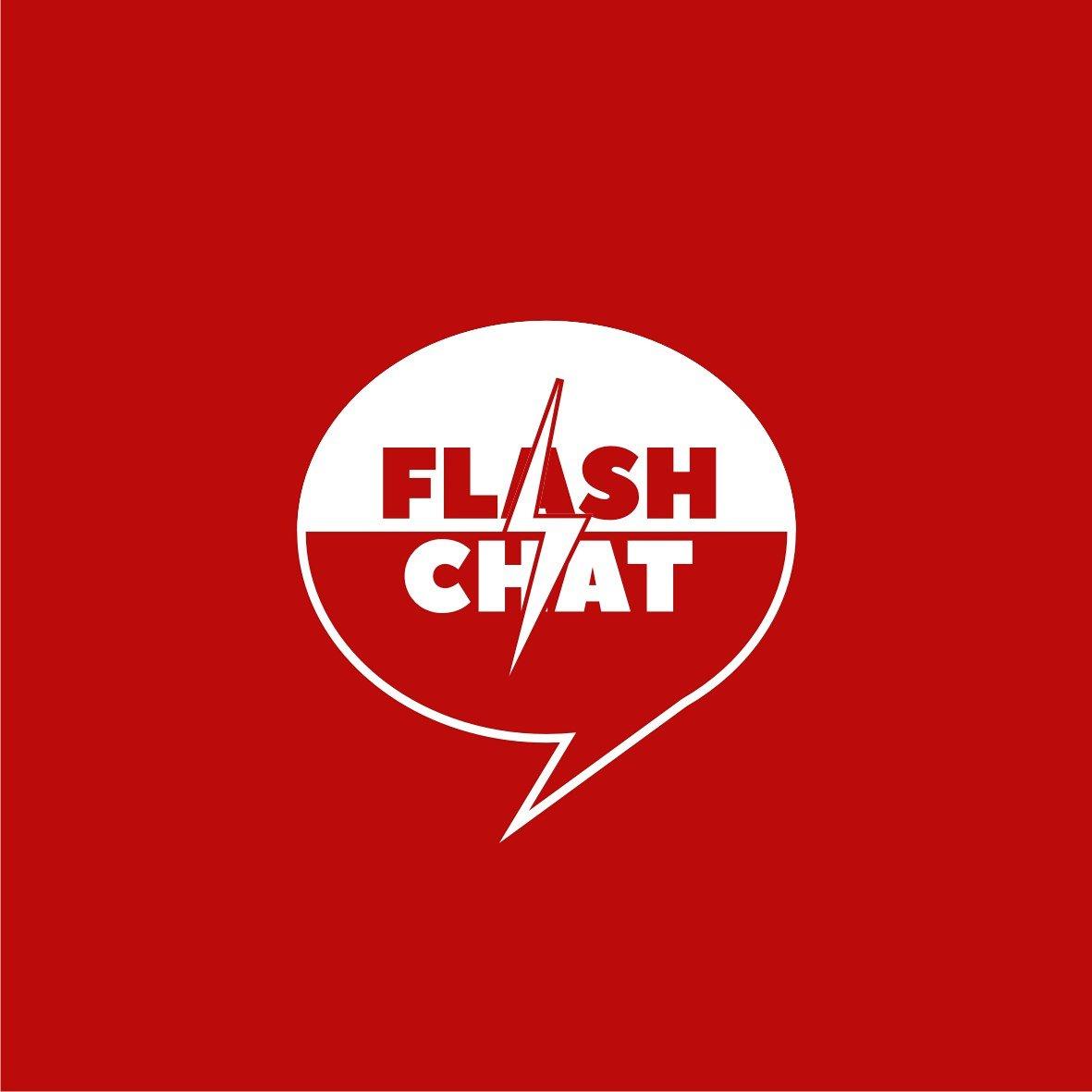 Azarya Cristian On Twitter Flash Chat Logo Unused Logo Red