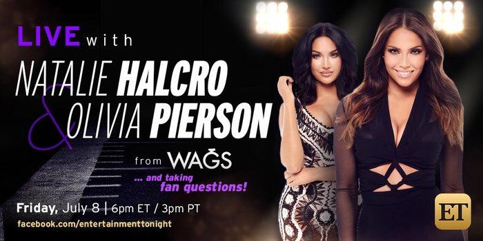 Olivia Pierson  - Tomorrow!!! wags twitter @OliviaPierson