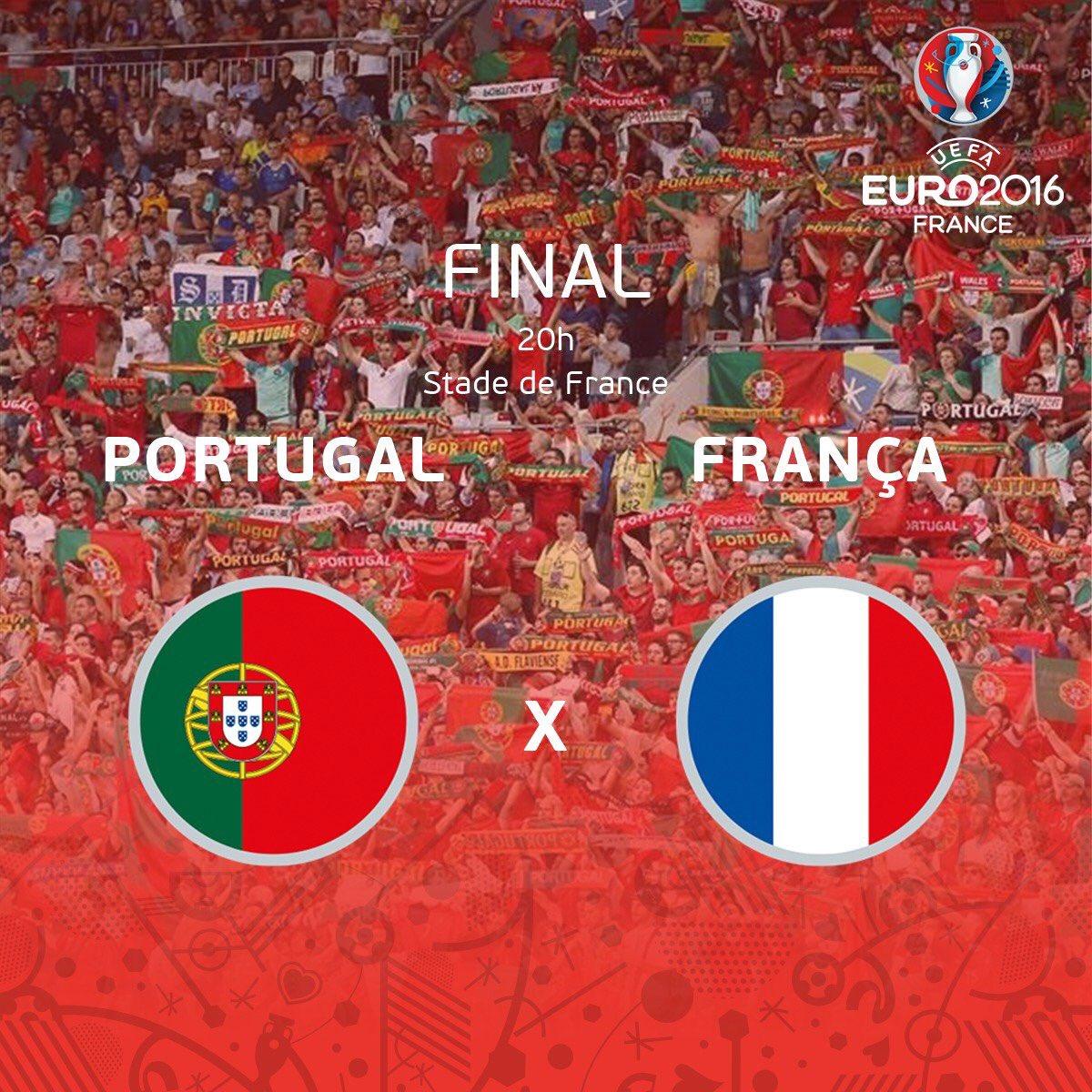 PORTOGALLO FRANCIA : orario Diretta TV Streaming calcio gratis oggi 10 luglio Finale EURO 2016